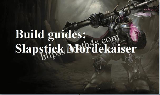 How to play Slapstick Mordekaiser [Mordekaisercarry]