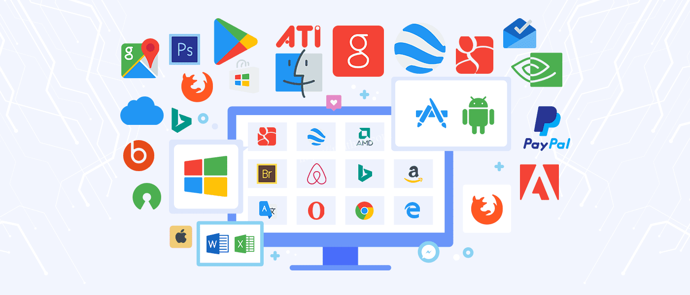 Top 22 Applications, Software for Computers and Laptops